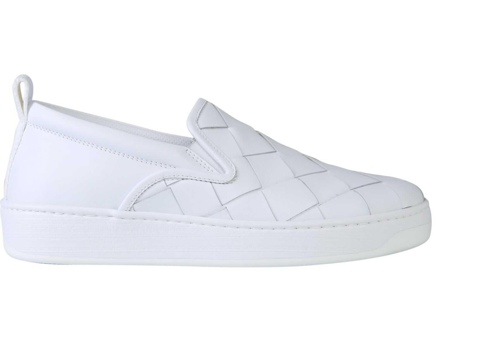 Bottega Veneta Dodger Sneakers WHITE