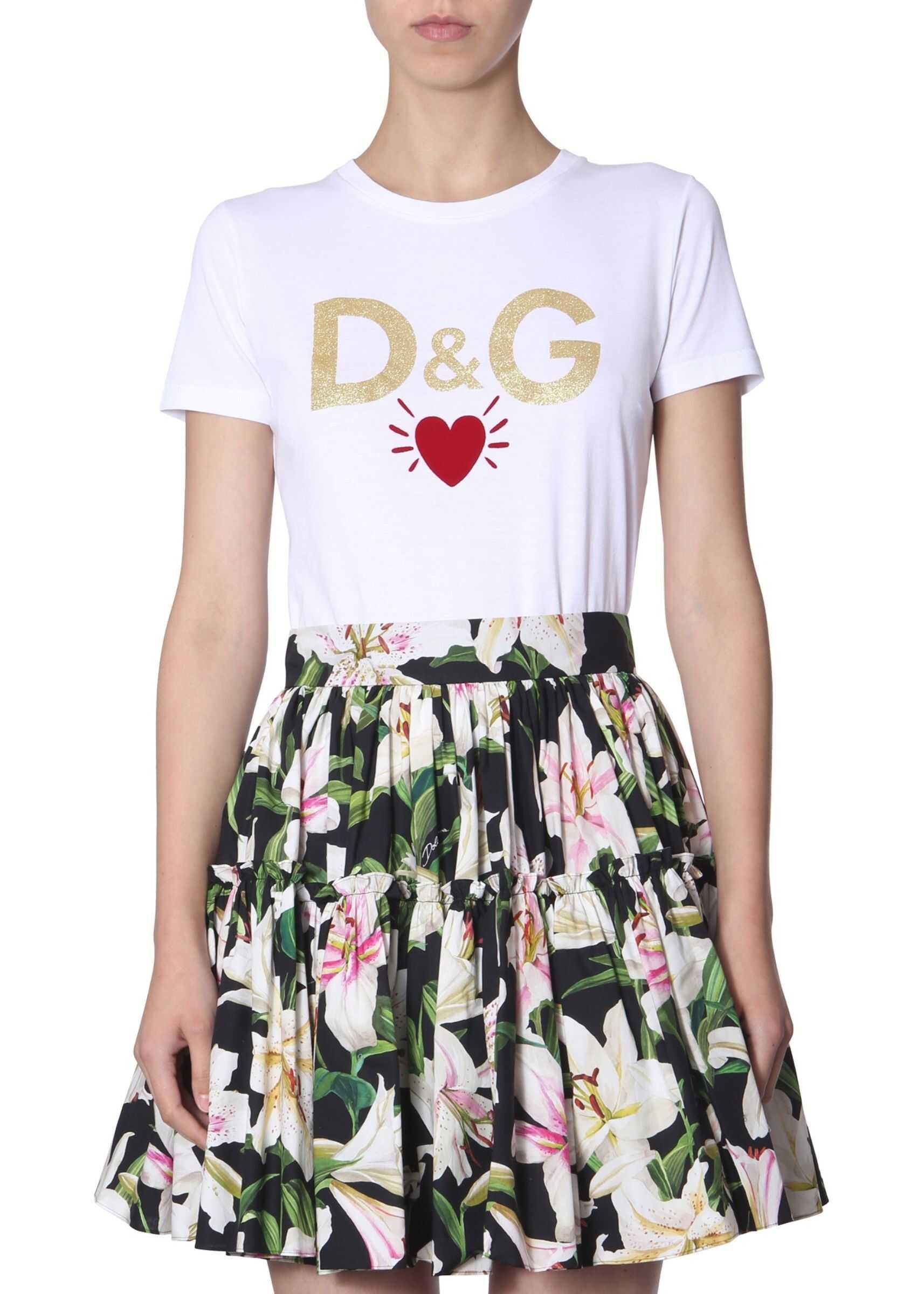 Dolce & Gabbana Cotton Jersey T-Shirt WHITE