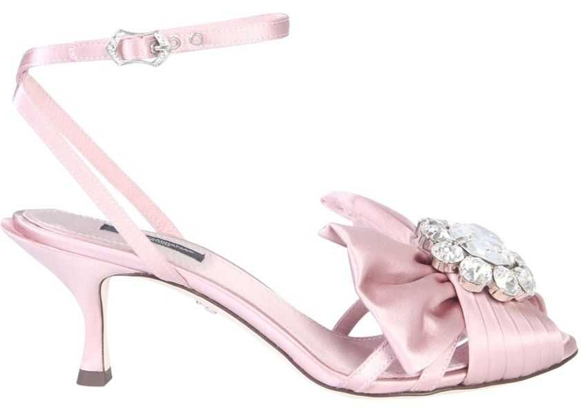 Sandale Dama Dolce & Gabbana Sandal With Bow And Crystals