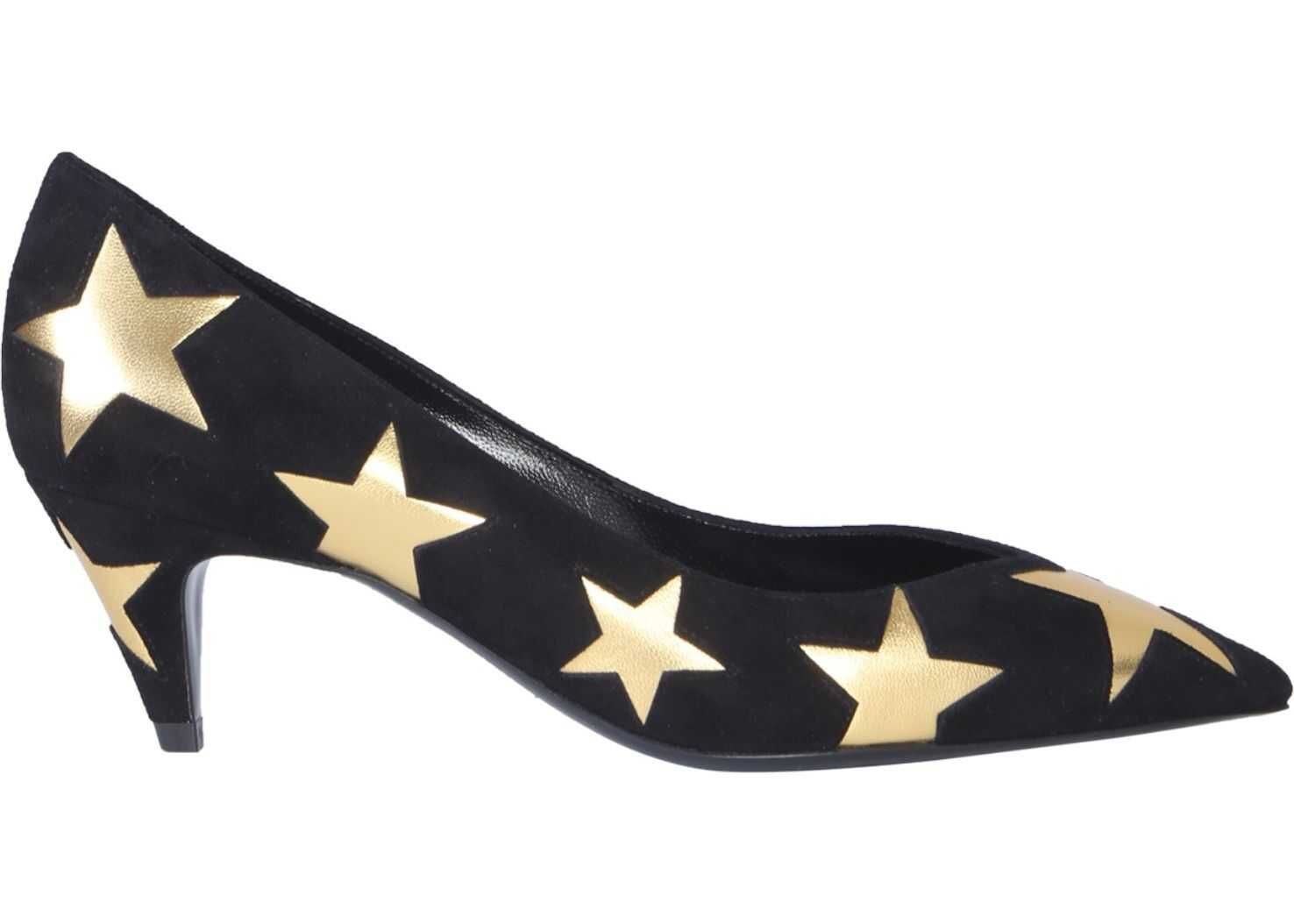 Saint Laurent Kiki Pumps BLACK