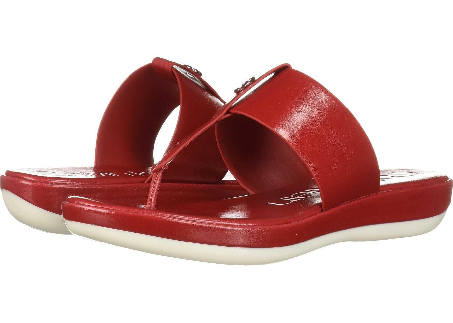 Calvin Klein Kimmy Scarlet Varnished Crackled