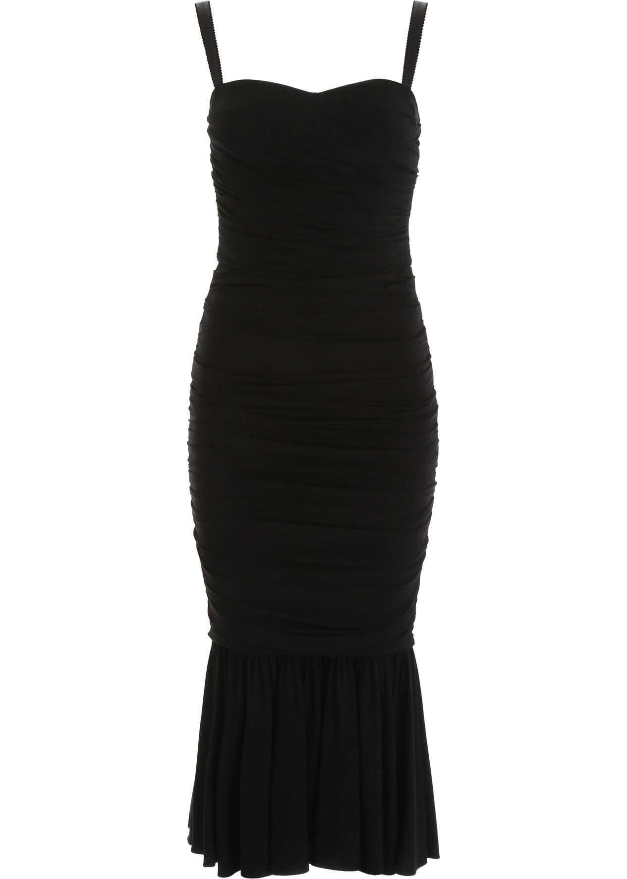 Dolce & Gabbana Sheath Dress NERO