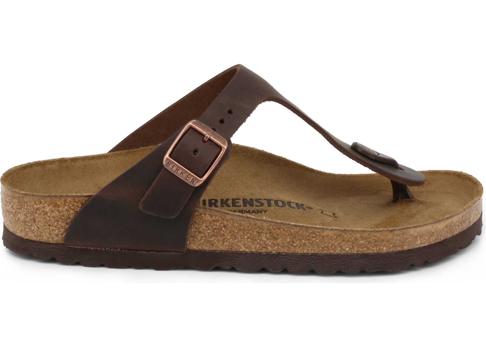 Birkenstock Gizeh_Oiled-Leather BROWN