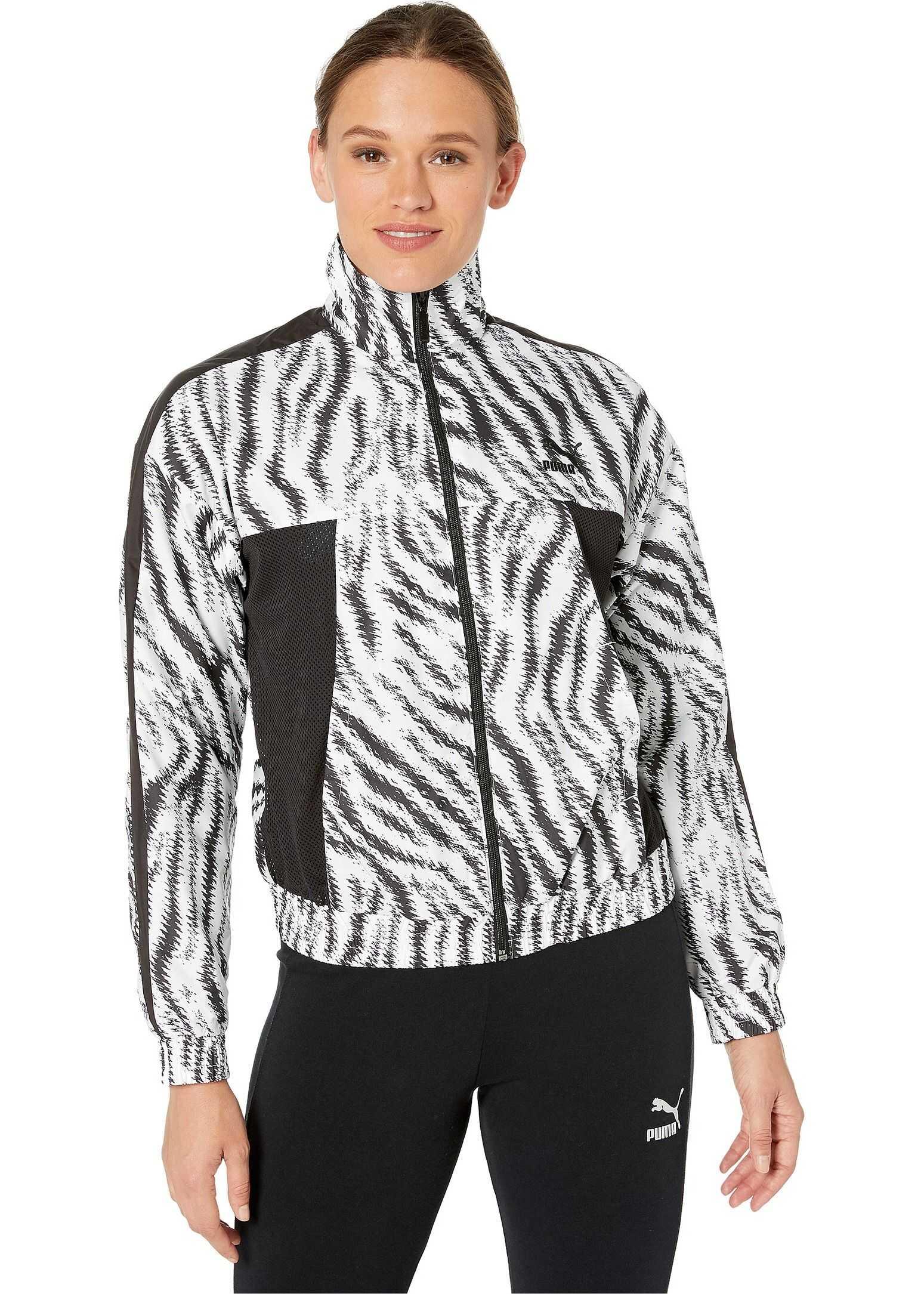PUMA Wild Pack Cropped Jacket Puma White/Zebra