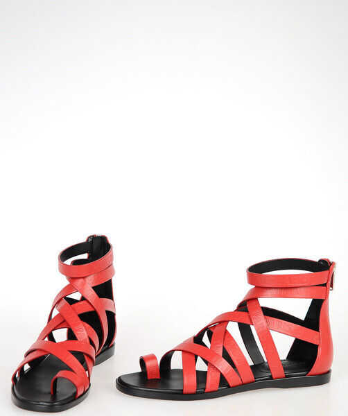 Sandale Dama Balmain Leather Sandals