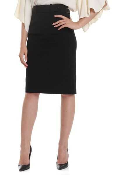 Fuste Dama RED VALENTINO Pencil Skirt In Stretch Wool Blend