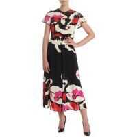 Rochii lungi RED VALENTINO Floral Long Dress In Black