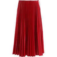 Fuste FENDI Fendi Pleated Nylon Skirt