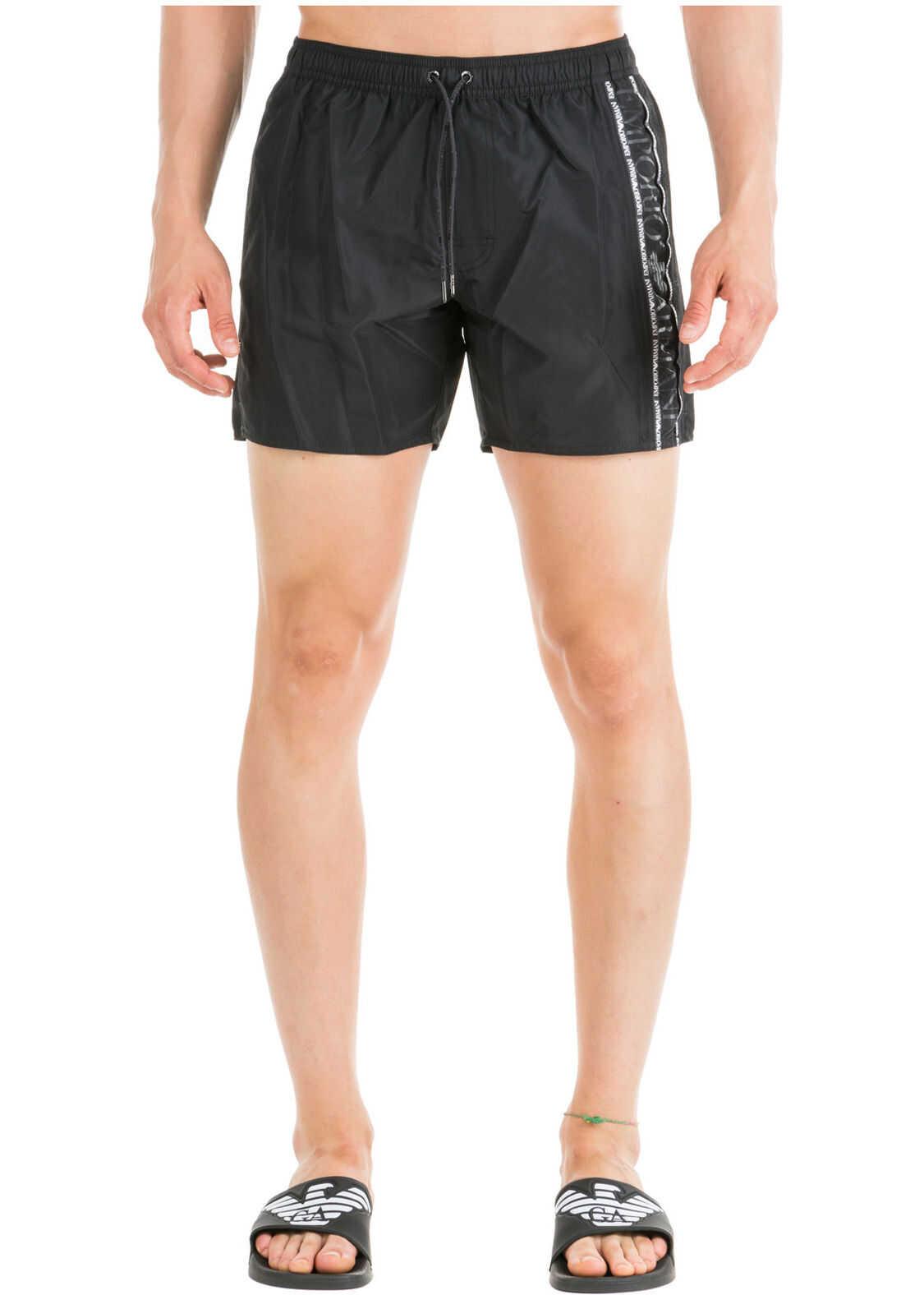 Emporio Armani Swimming Suit Black