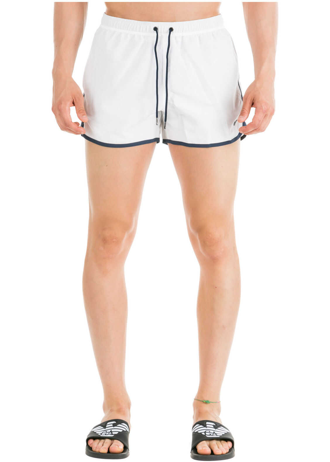 Emporio Armani Swimming Suit White