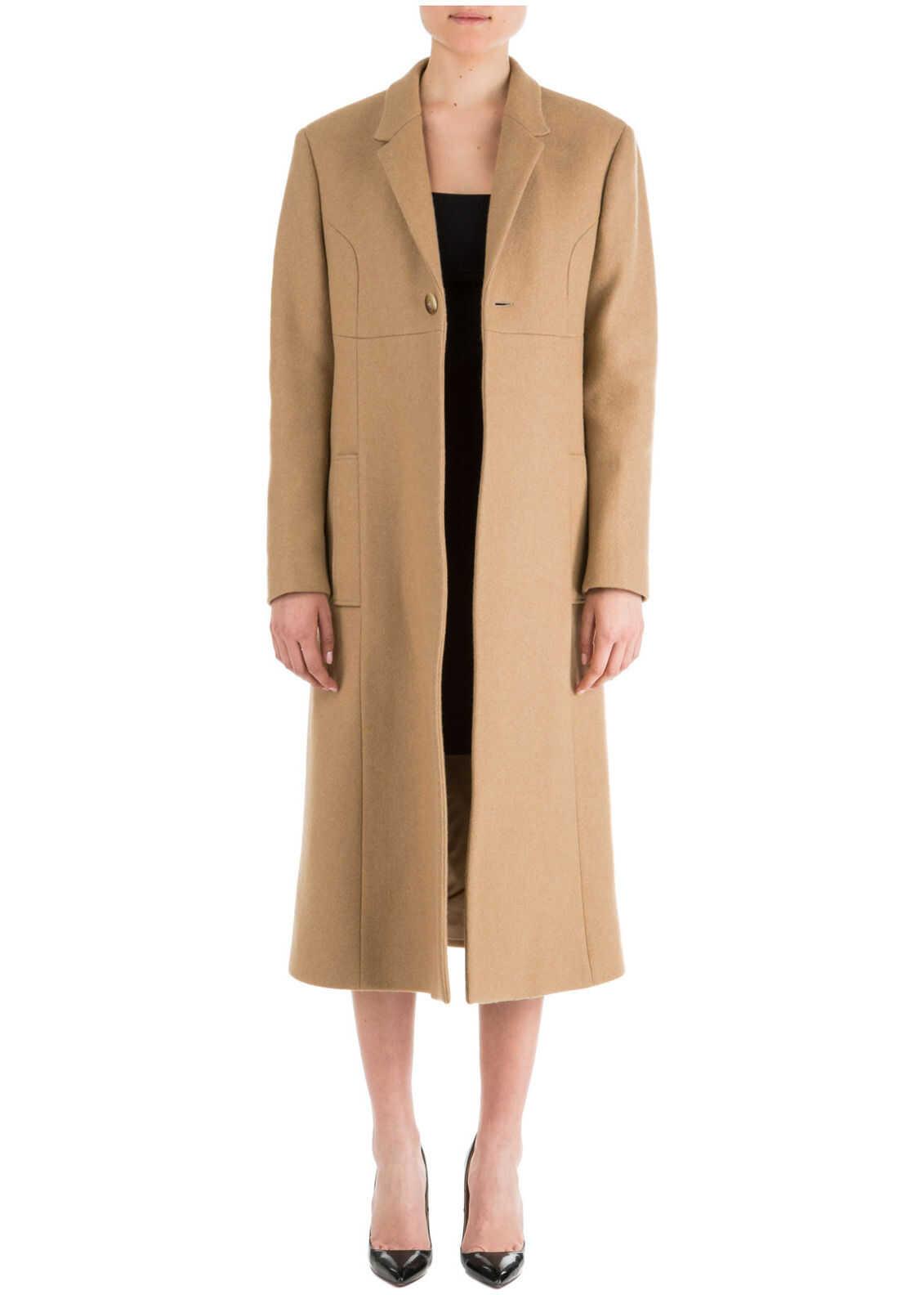 Neil Barrett Wool Coat PNCA229M029 549 Brown image0
