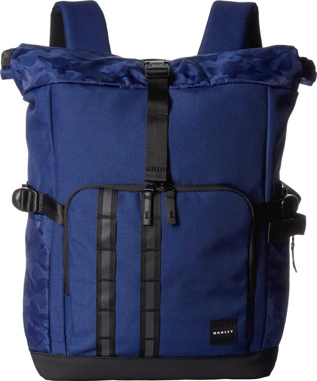 Oakley Utility Rolled Up Backpack Dark Blue