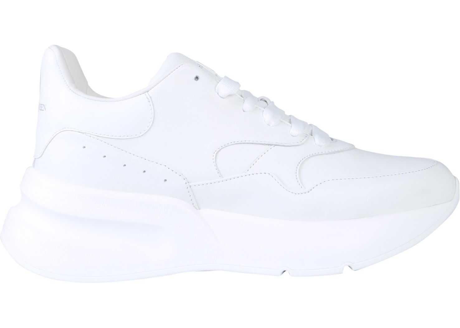 Alexander McQueen Oversize Runner Sneaker WHITE