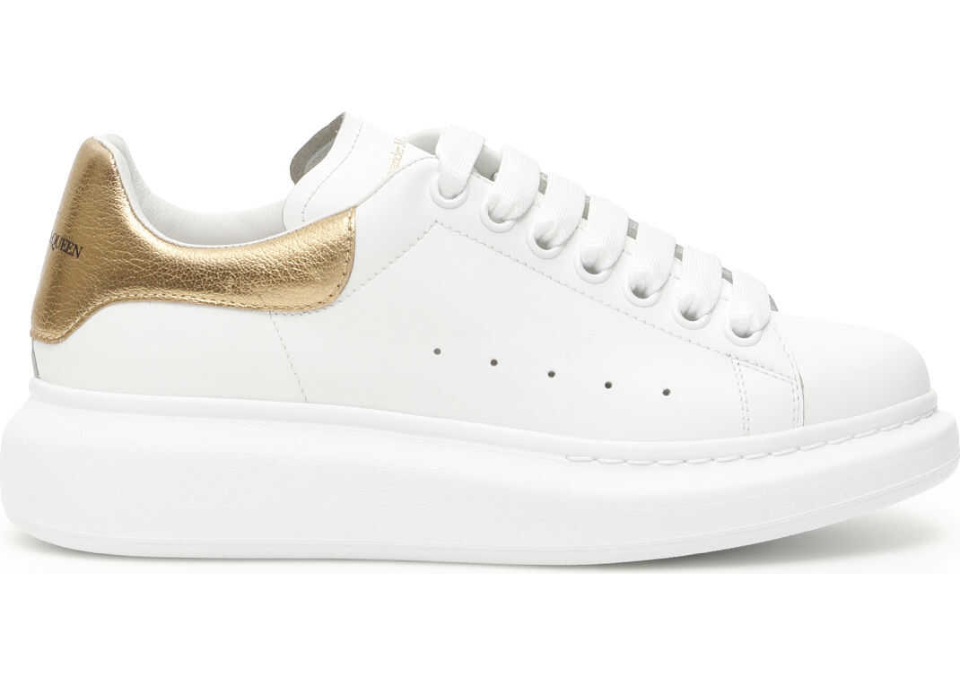 Alexander McQueen Oversized Sneakers WHITE GOLD