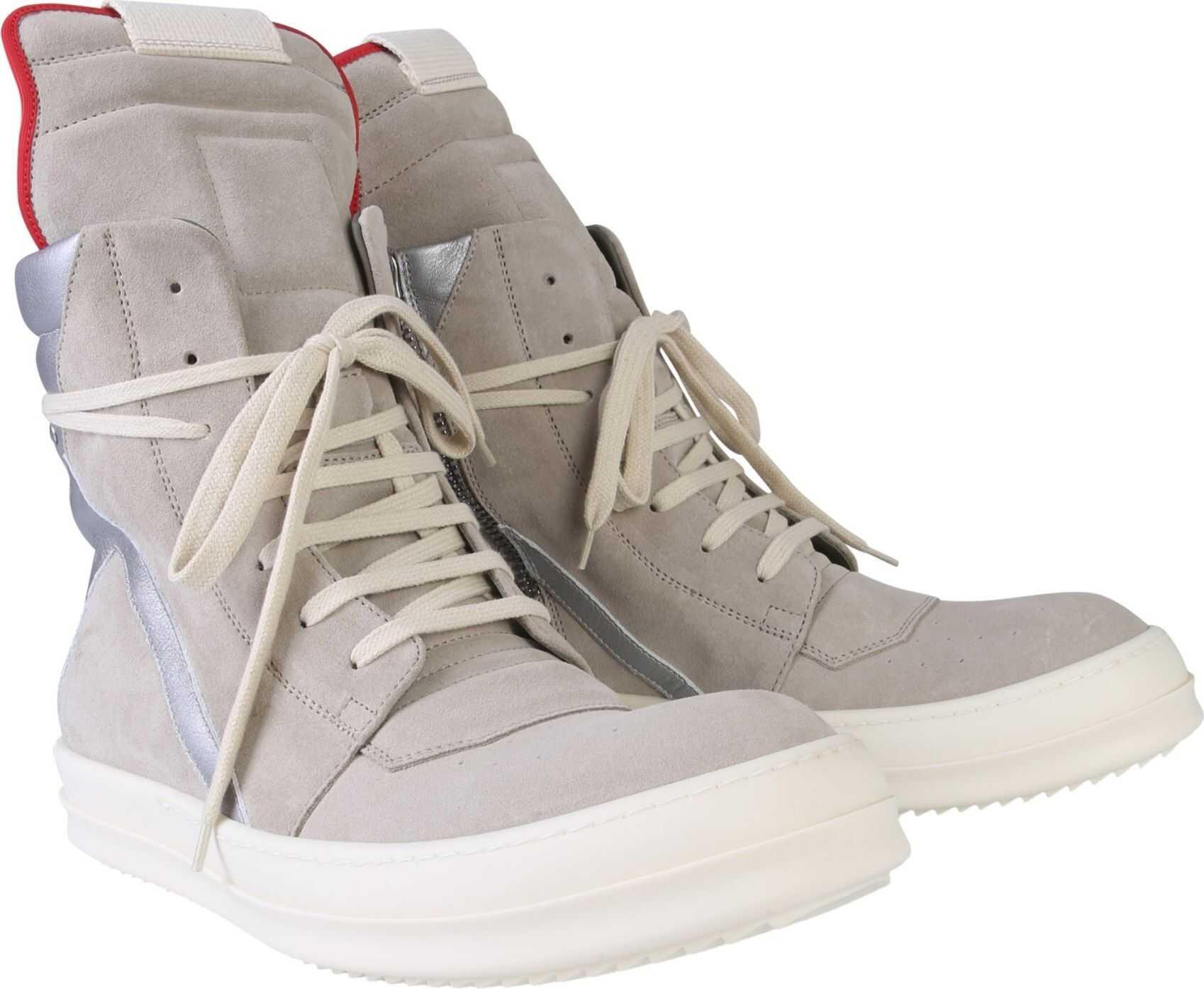 Rick Owens Geobasket Sneakers GREY