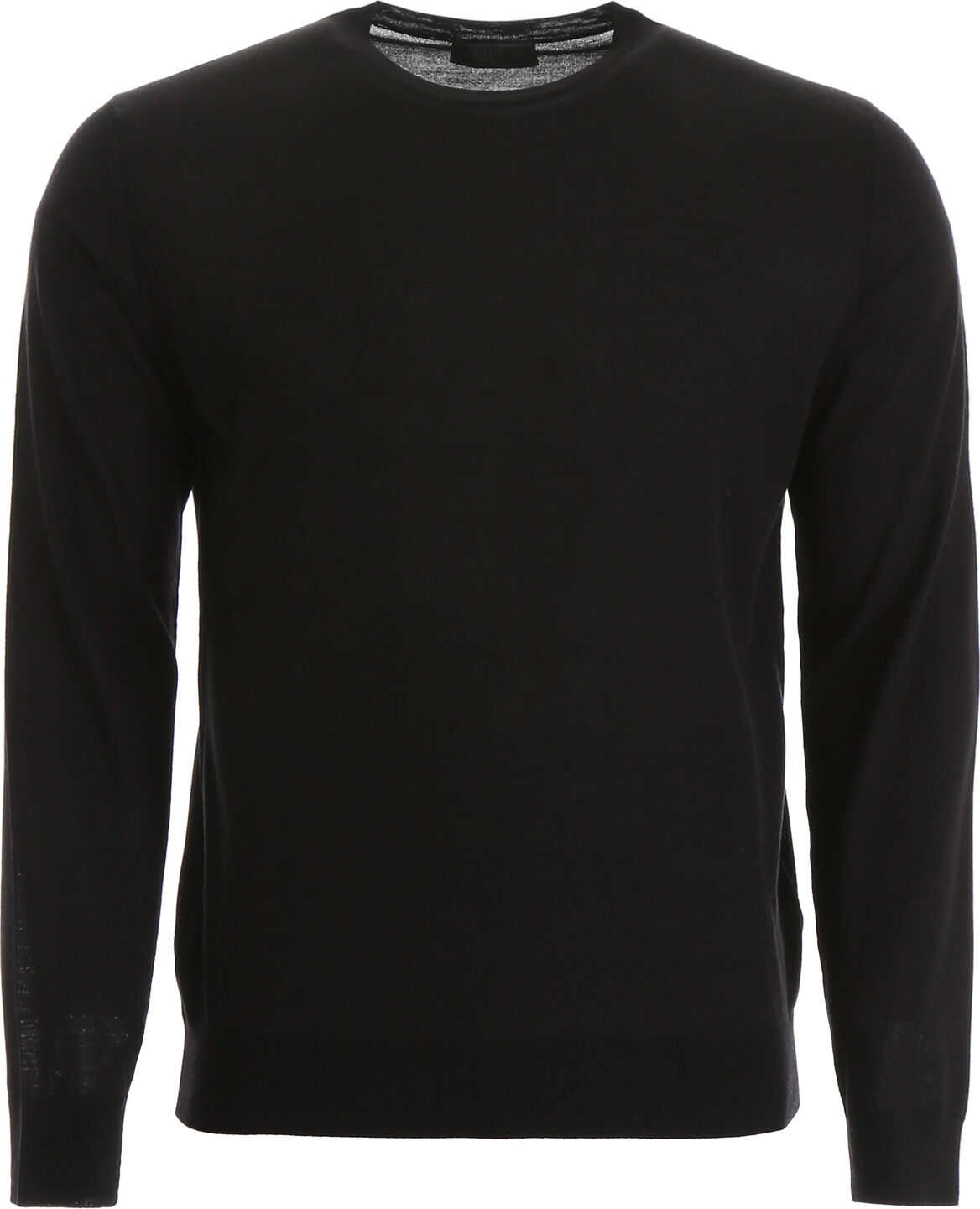 Prada Brushed Wool Pullover NERO