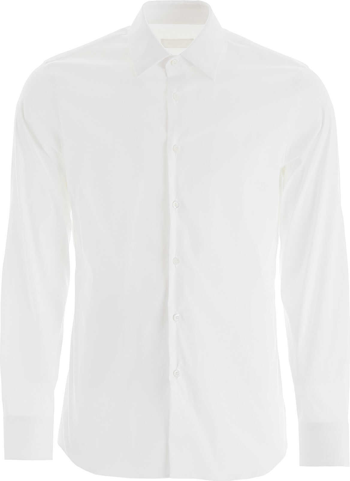 Prada Gold Fit Shirt BIANCO