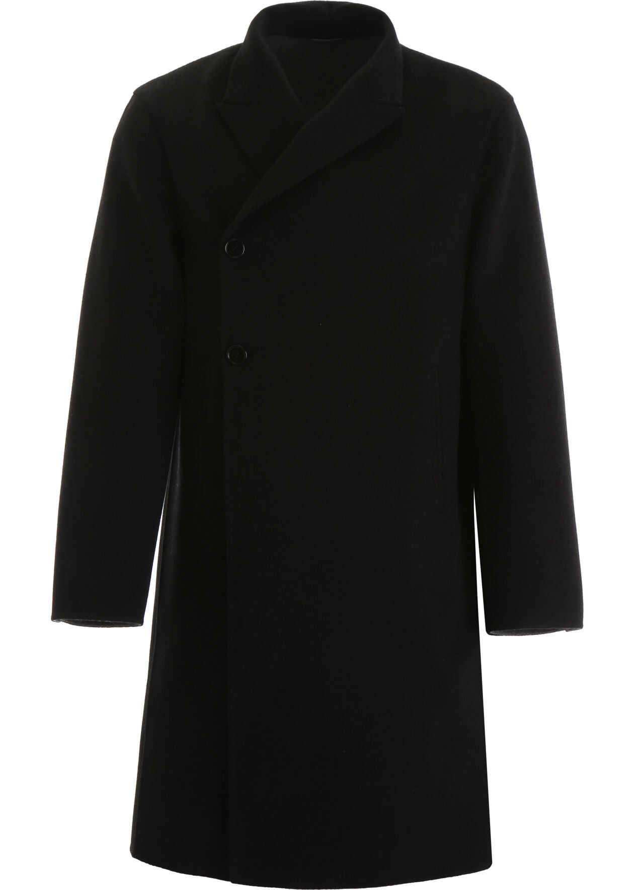 Dior Double Wool Coat NOIR
