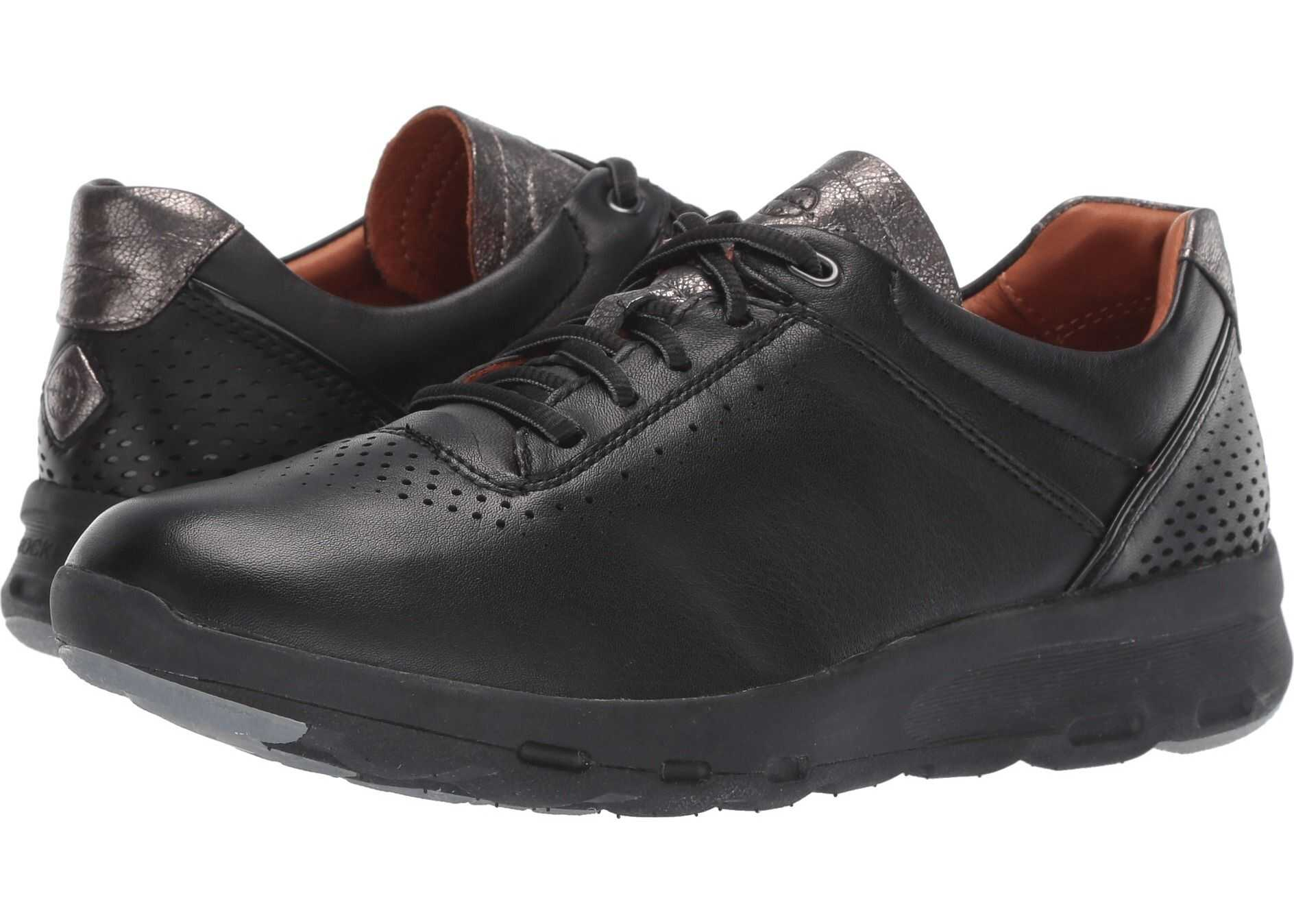 Rockport Let's Walk Ubal Black/Black Leather