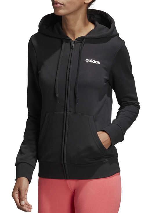 adidas W Essentials FZ Hoodie Black