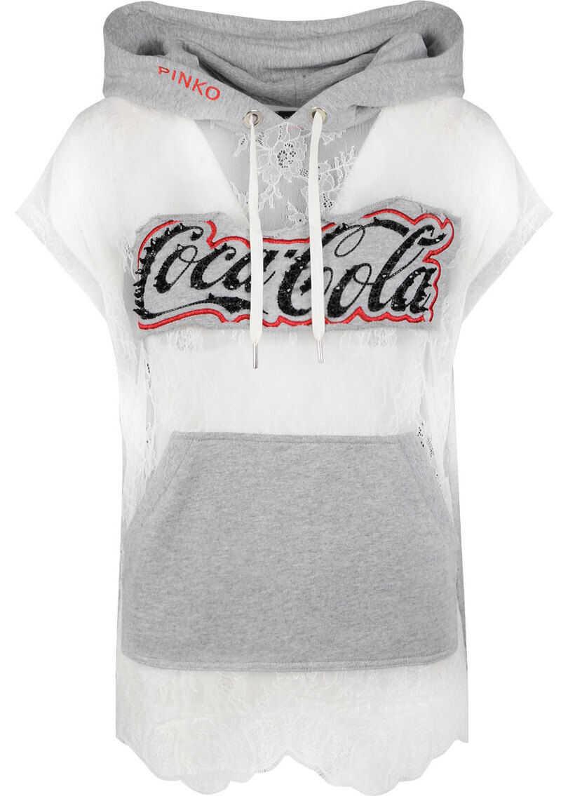 Pinko Coca-Cola Rabarbaro 1N11WL Biały, Szary