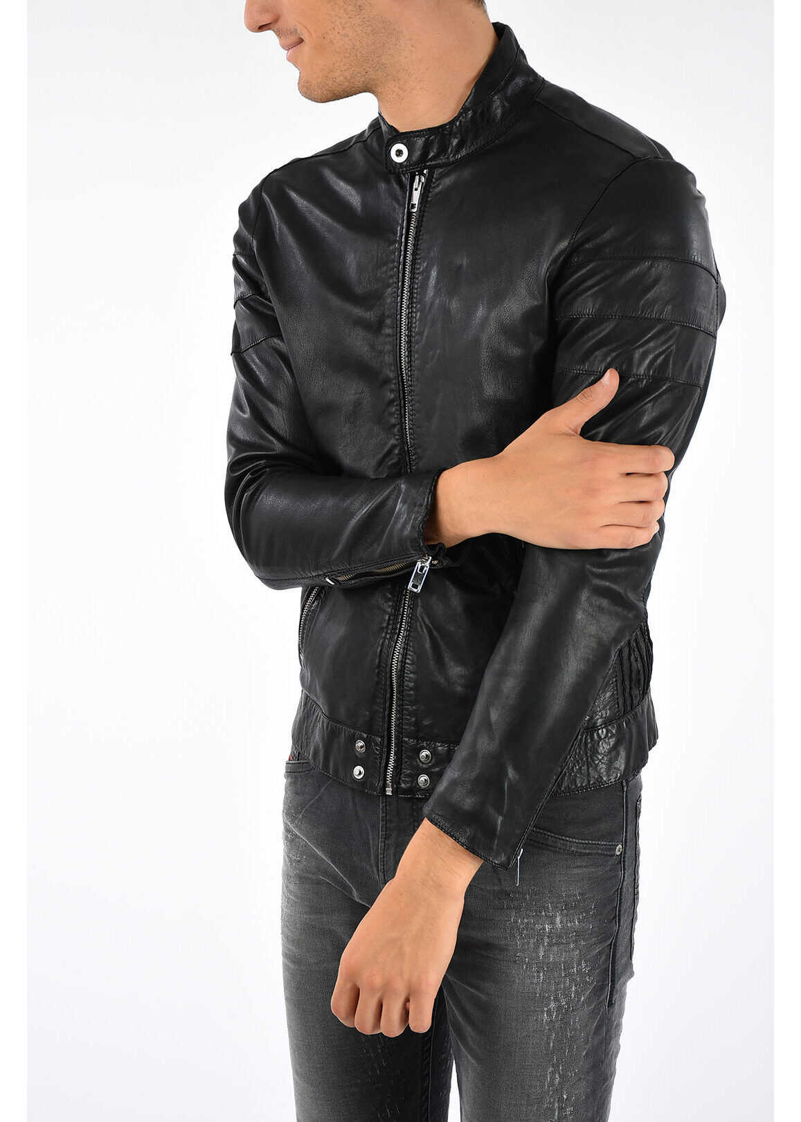 Diesel Leather L-TOD Jacket N/A
