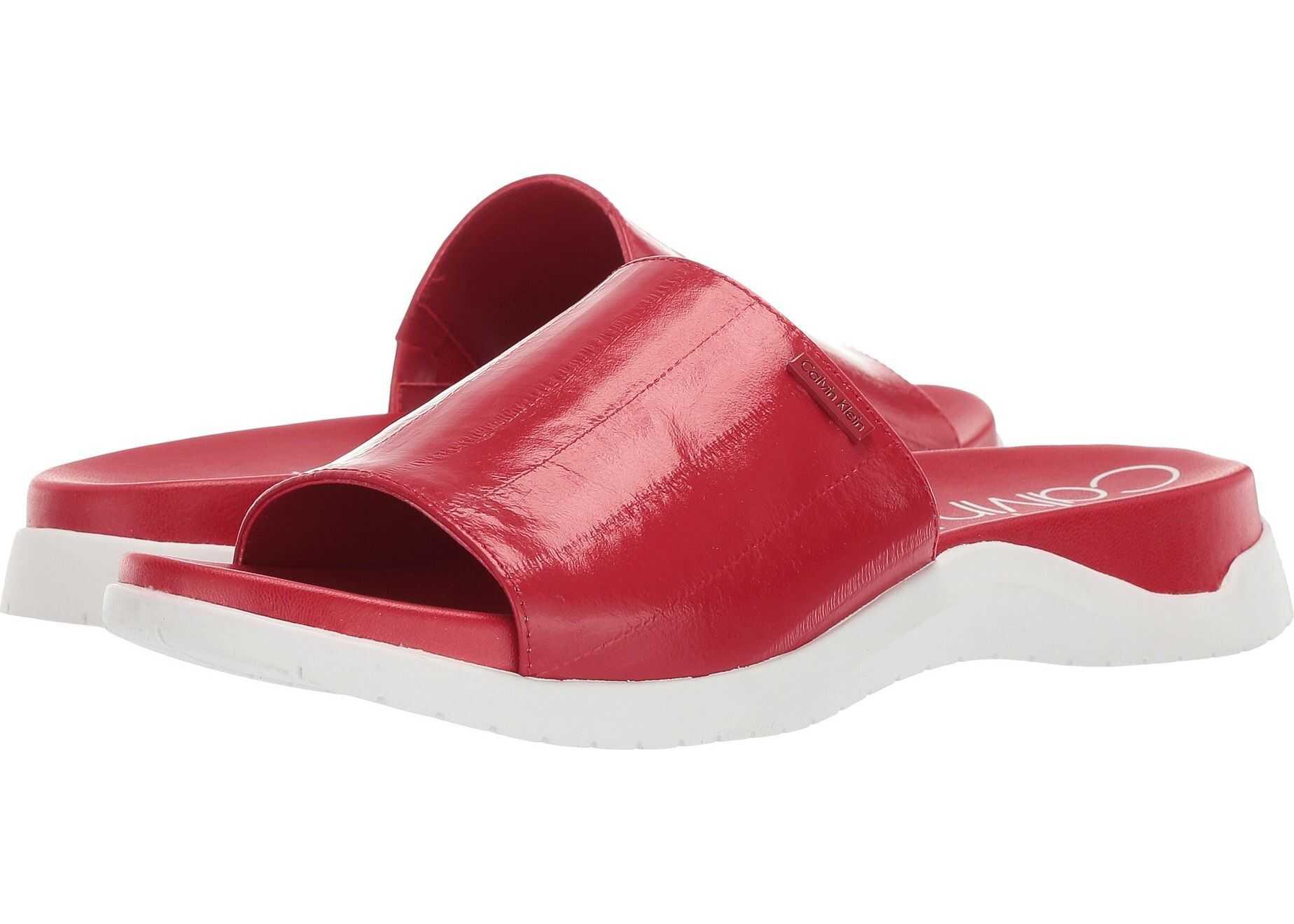 Calvin Klein Ubi Scarlet High Gloss Eel