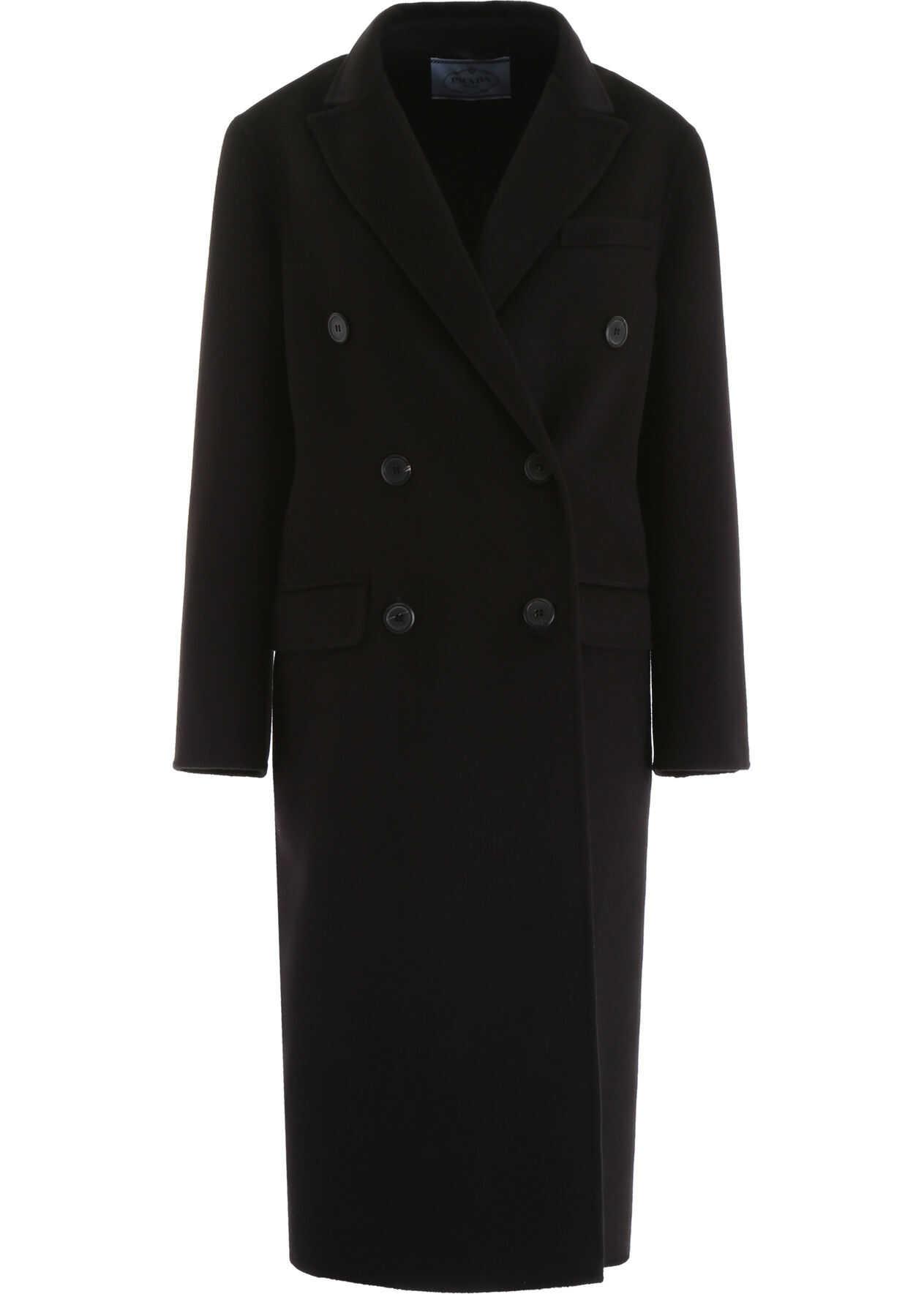Prada Cashgora Coat NERO
