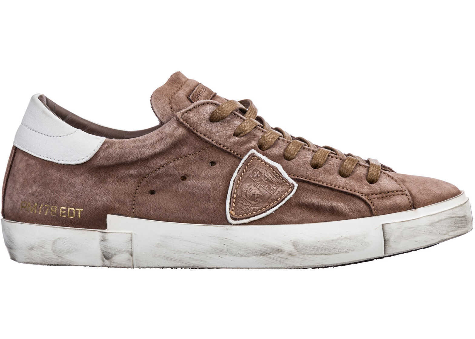 Philippe Model Sneakers Paris Brown