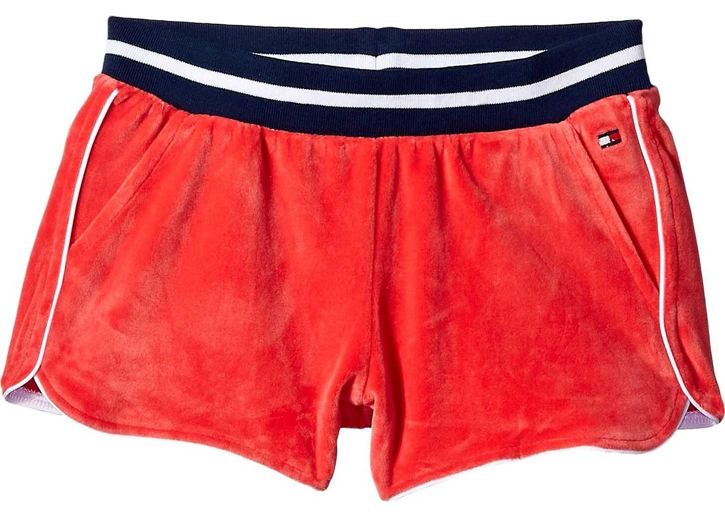 Velour Shorts (Big Kids)