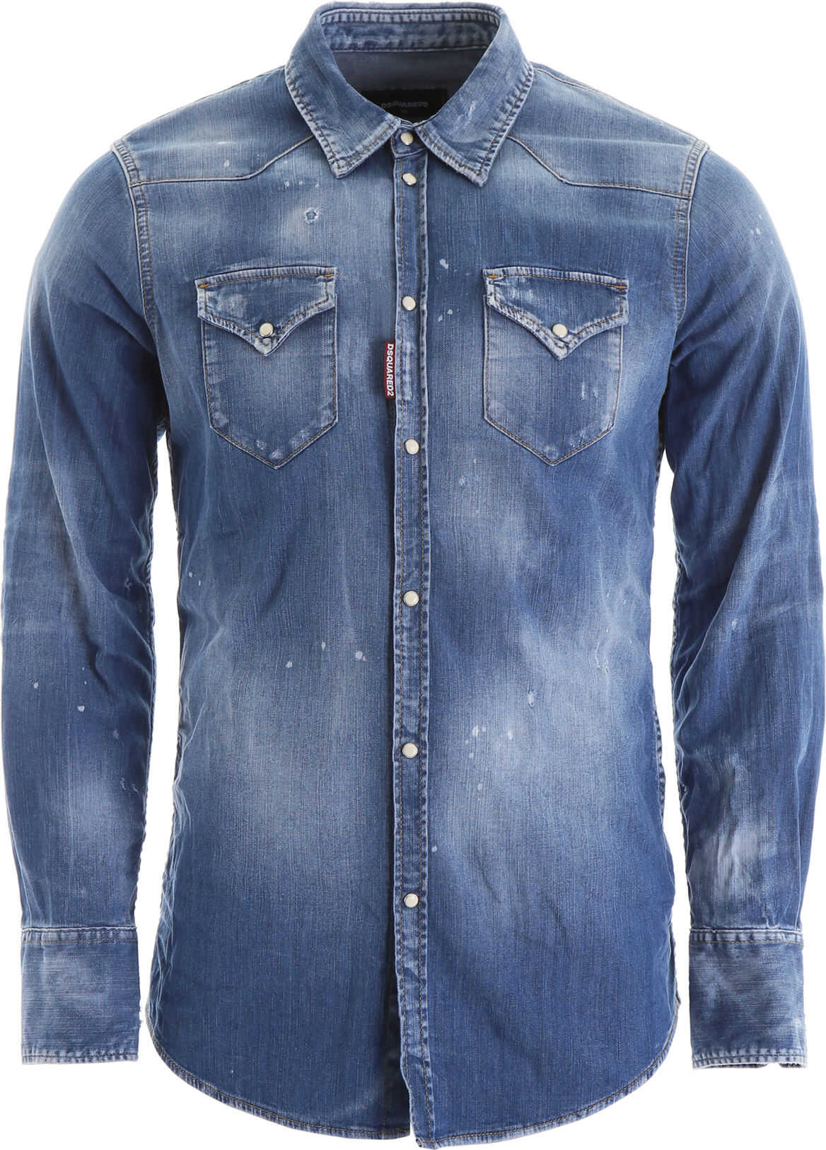 DSQUARED2 Denim Shirt BLUE