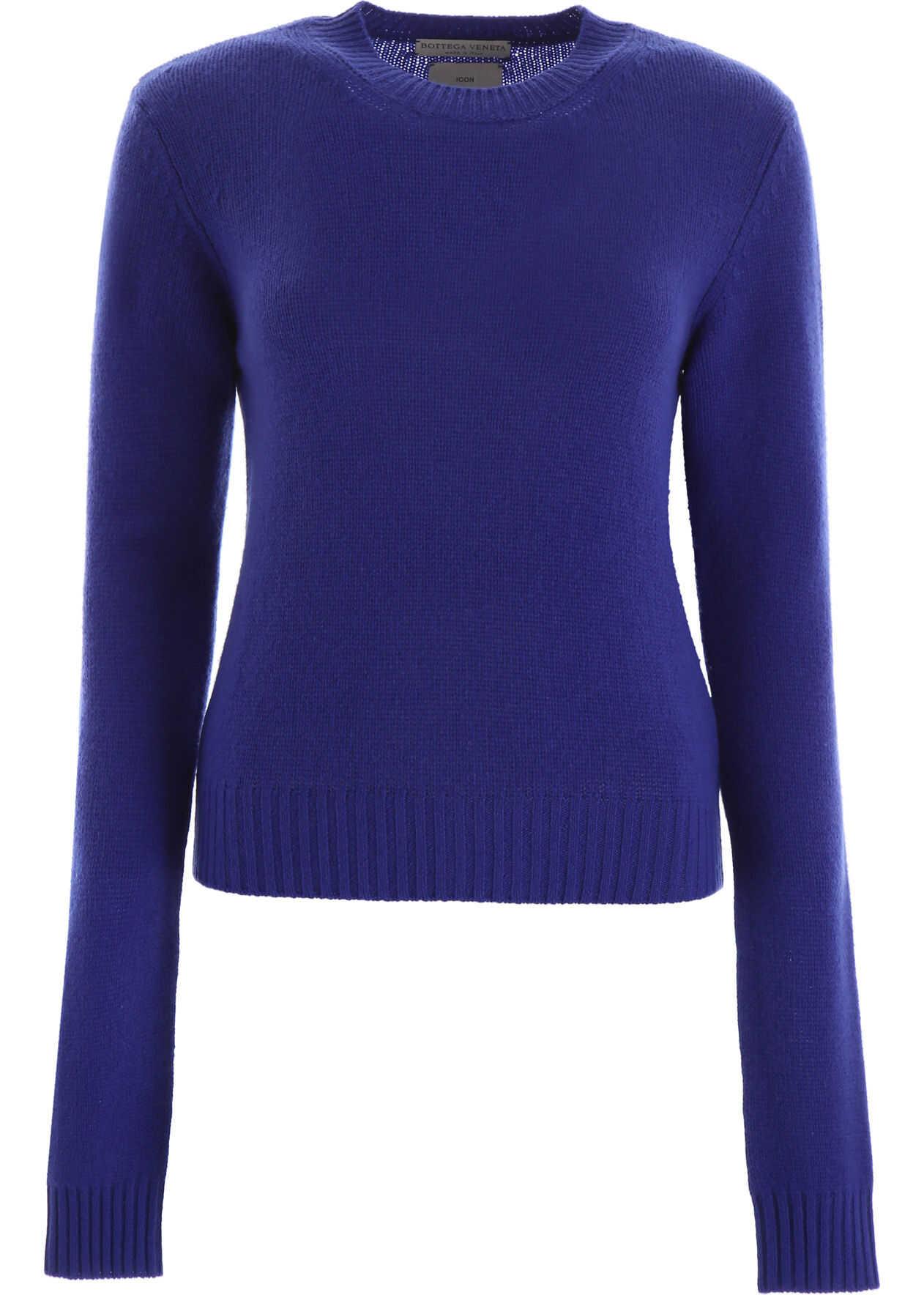 Bottega Veneta Cashmere Pullover PRIMARY BLUE