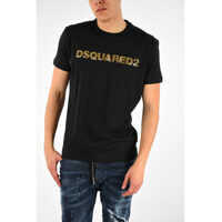 Tricouri T-shirt LONG COOL FIT with Sequins Barbati