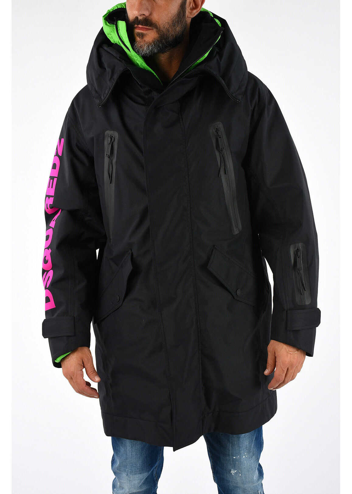 DSQUARED2 Padded Jacket BLACK