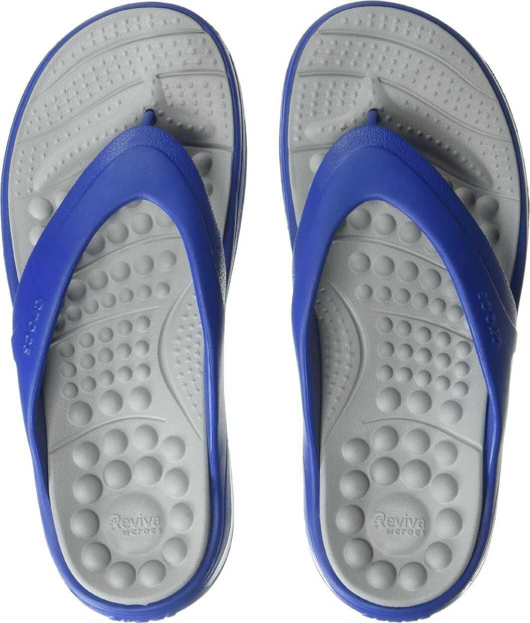 Crocs Reviva Flip Blue Jean/Light Grey