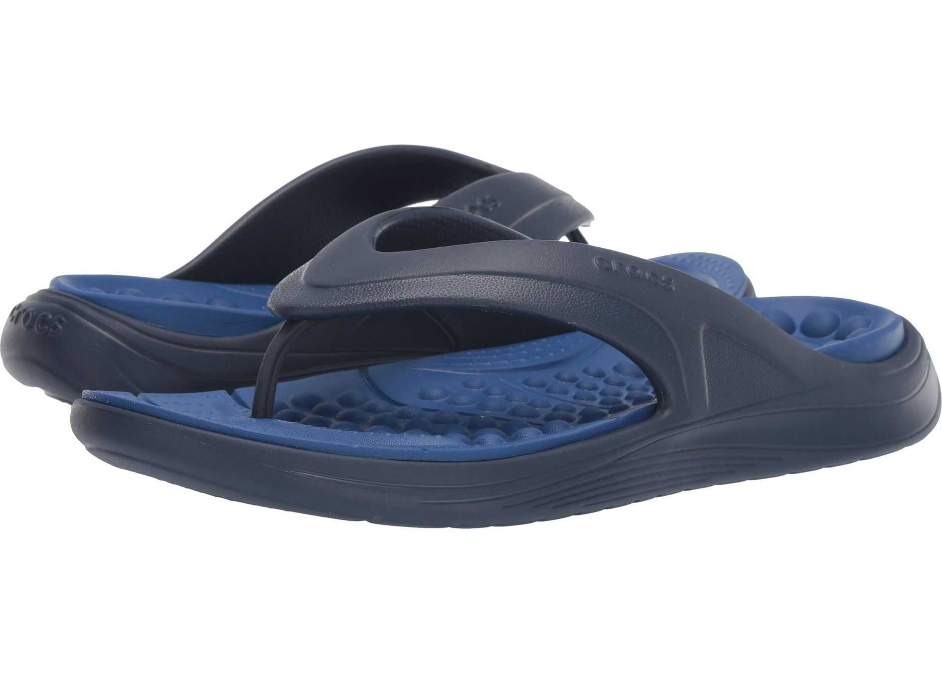 Crocs Reviva Flip Navy/Blue Jean