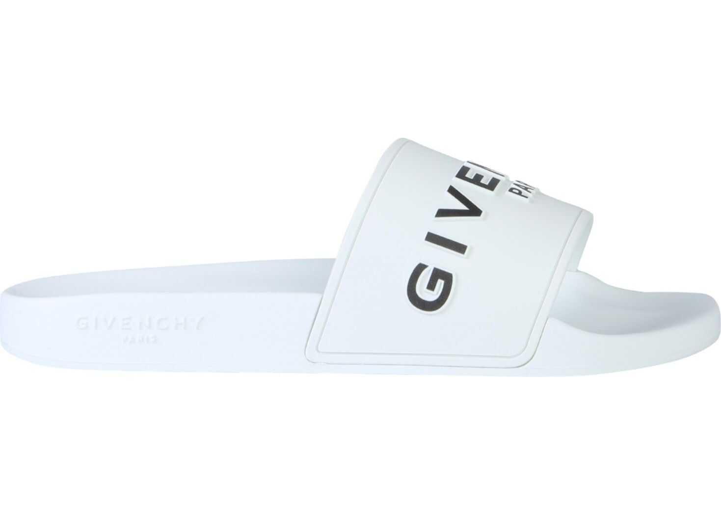 Givenchy Slide Sandals WHITE