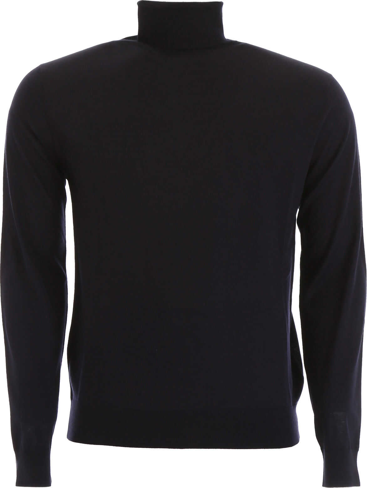 Prada Brushed Wool Turtleneck BLU