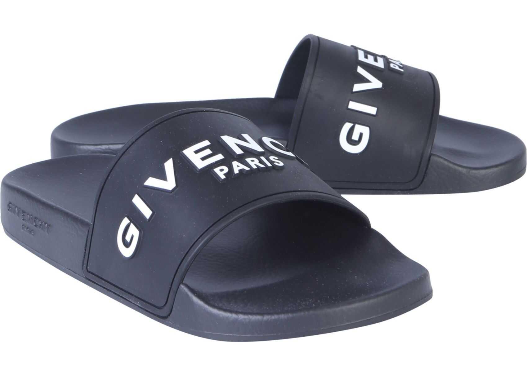 Givenchy Slide Sandals BLACK