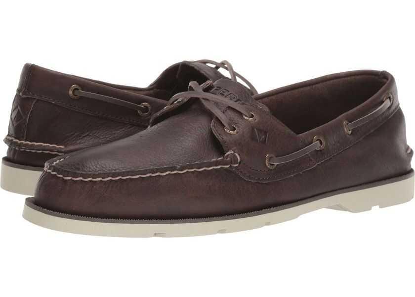 Pantofi Barbati Sperry Top-Sider Leeward Cross Lace Leather