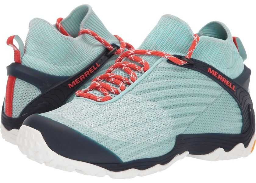 calitate superioară produs fierbinte prețuri mai mici noi Pantofi trekking Merrell Chameleon 7 Knit Mid Bleached Aqua Femei ...