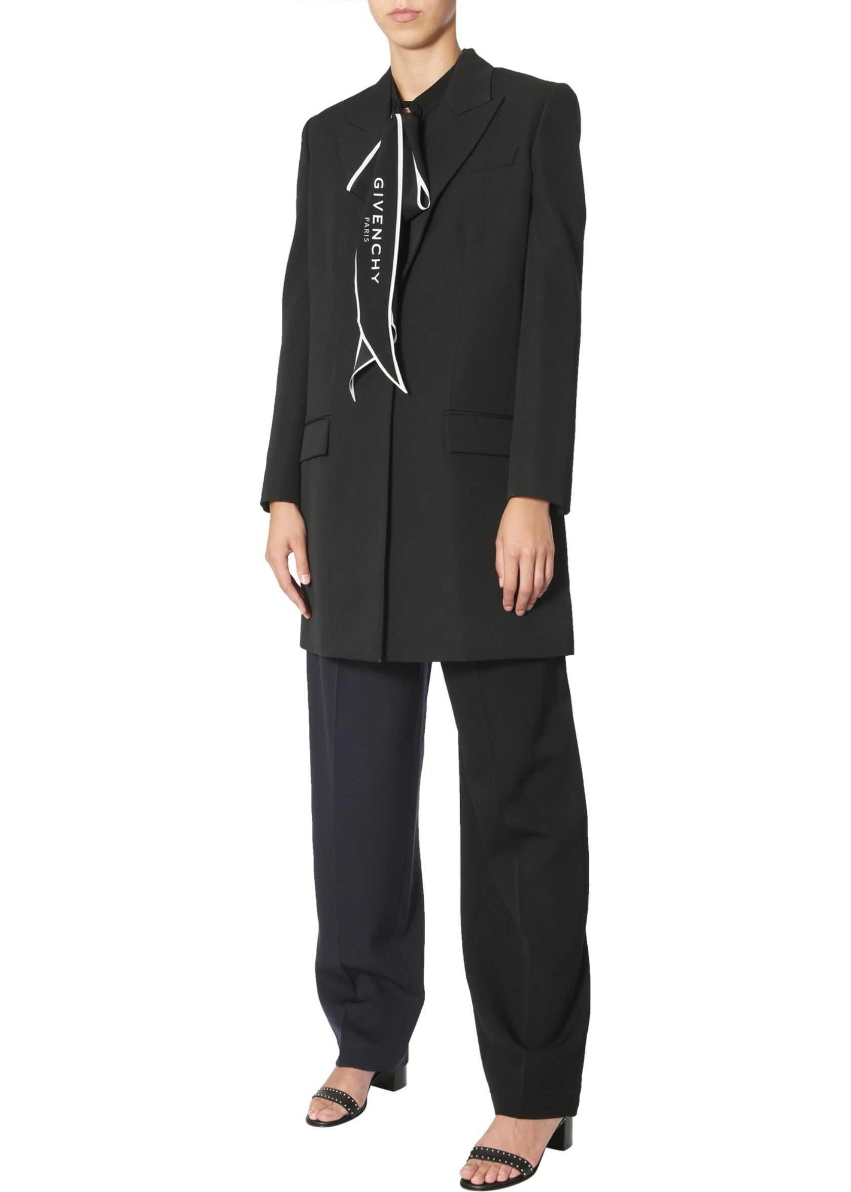 Givenchy Long Blazer BWC04G11BN_001 BLACK image0