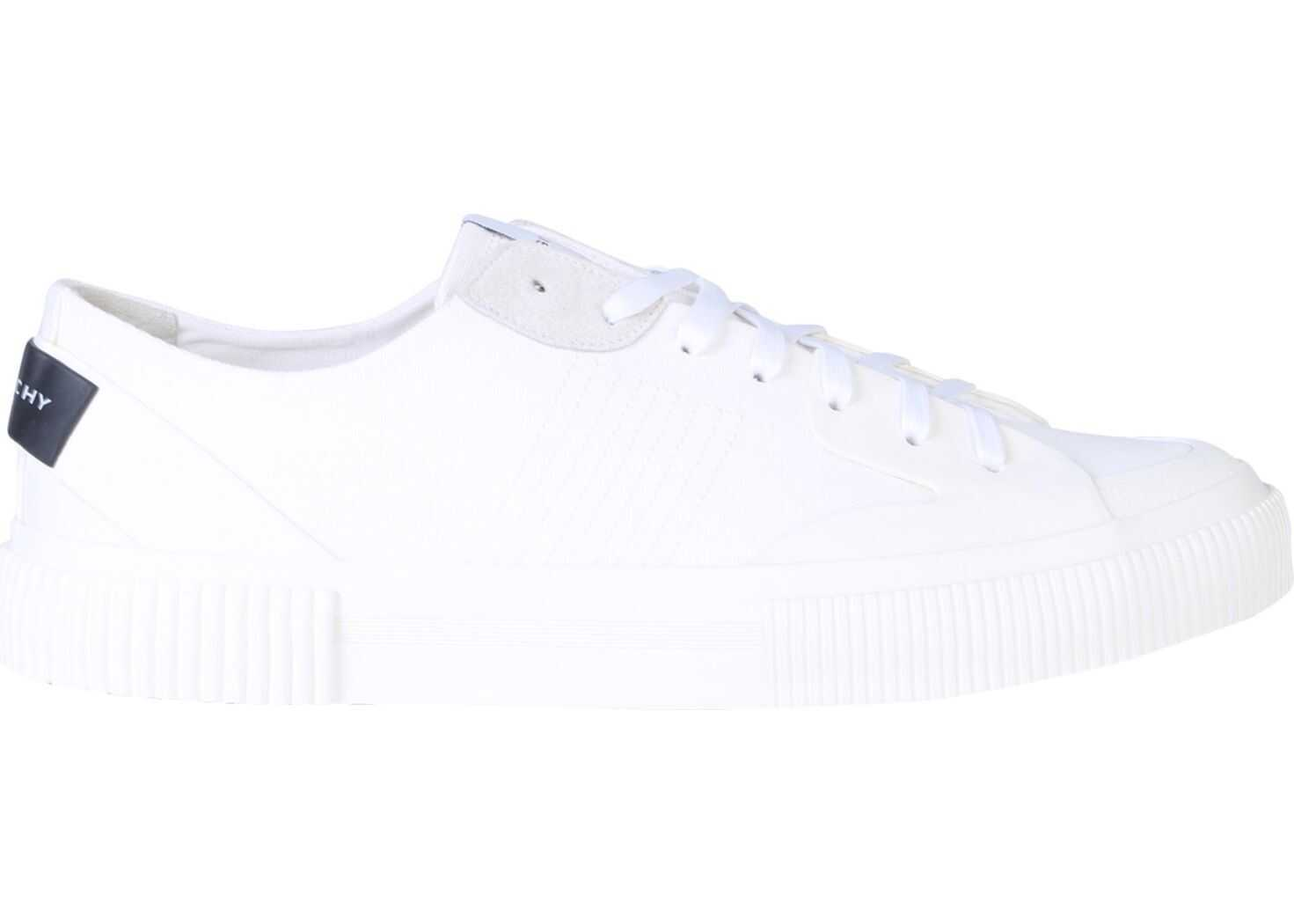 Givenchy Cotton Canvas Sneakers WHITE