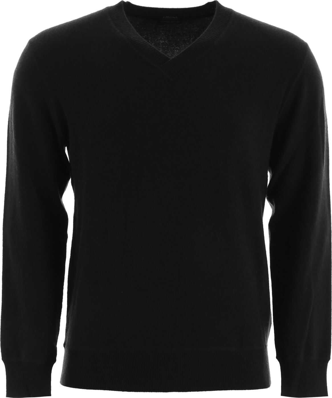 Z Zegna Cashmere Pullover BLACK SLD
