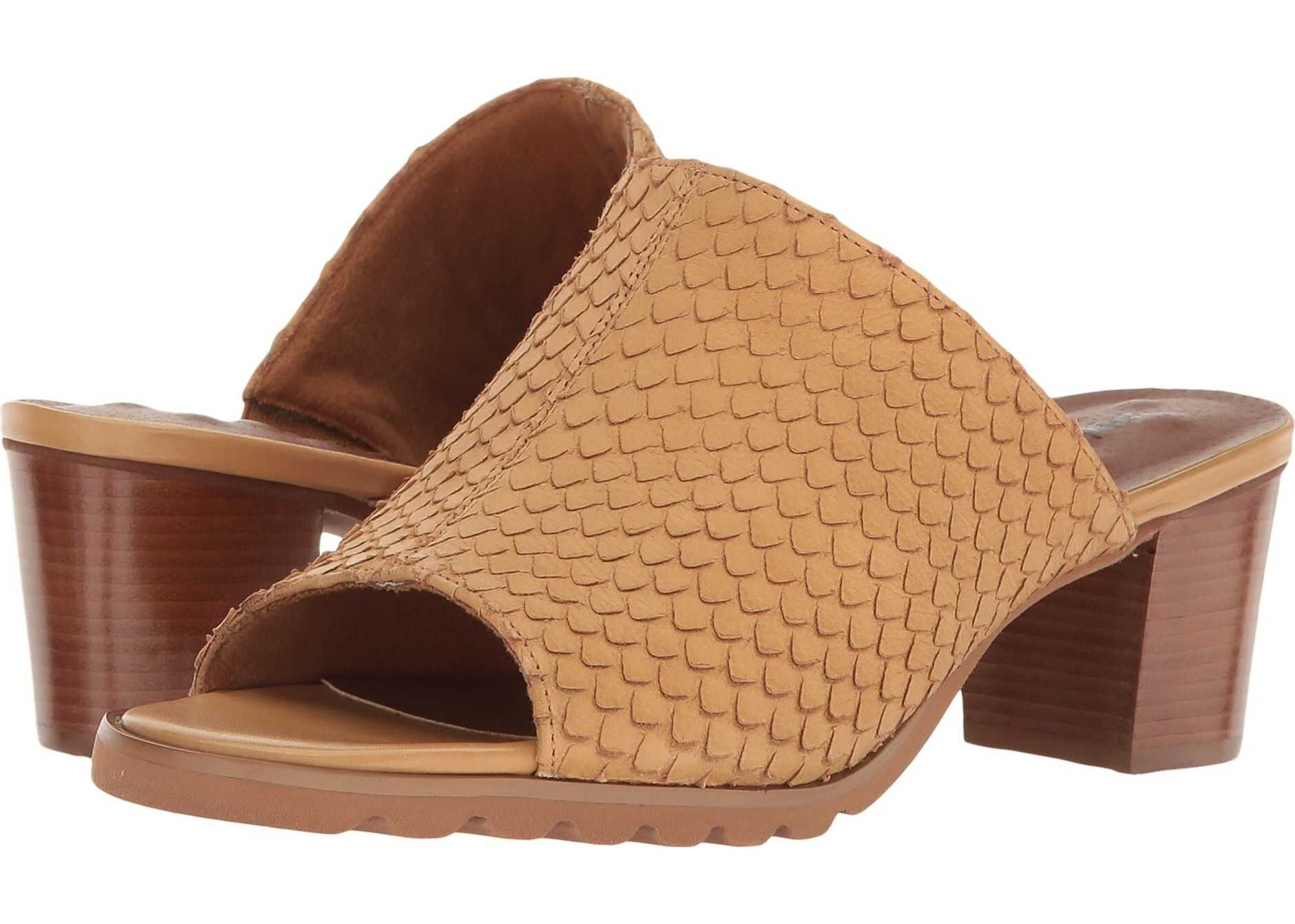 Walking Cradles Nia Camel Cut Snake Print Leather