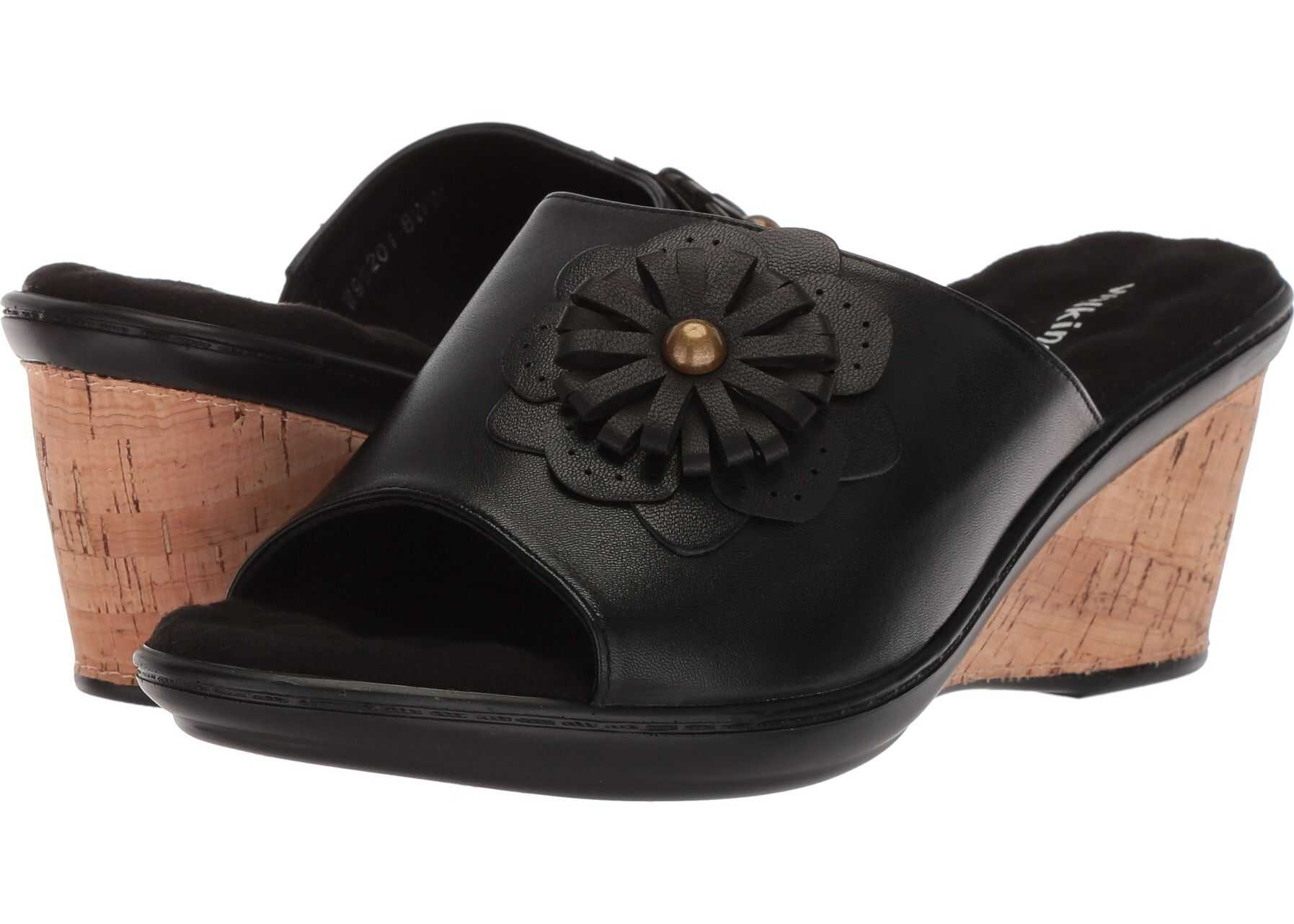 Walking Cradles Landry Black Leather