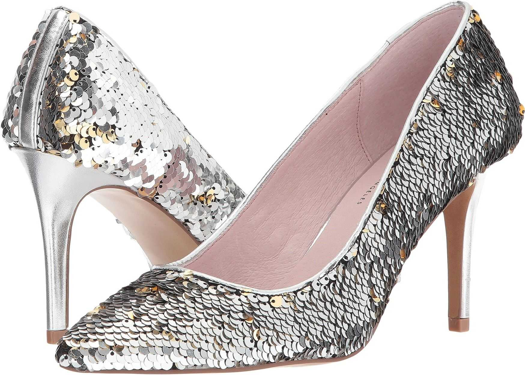 Chinese Laundry Ruthy Pump Silver Multi Sequins