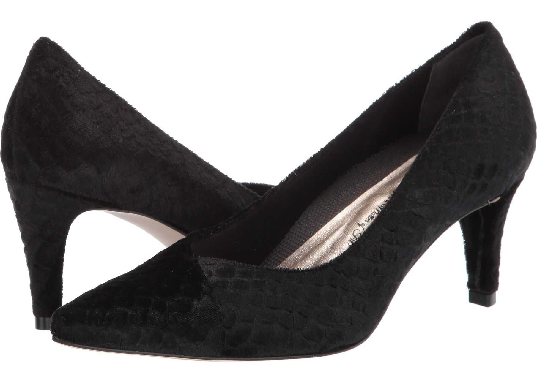 Walking Cradles Scorpio Black Snake Velvet Fabric