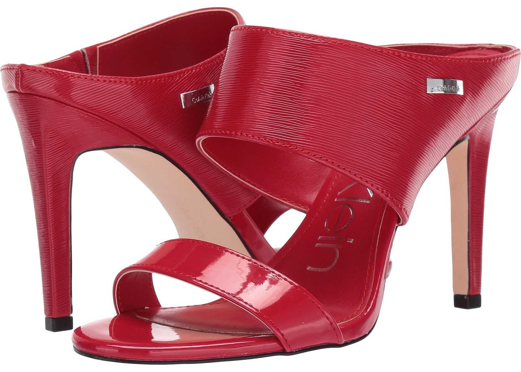 Calvin Klein Shayna Cherry Patent Smooth