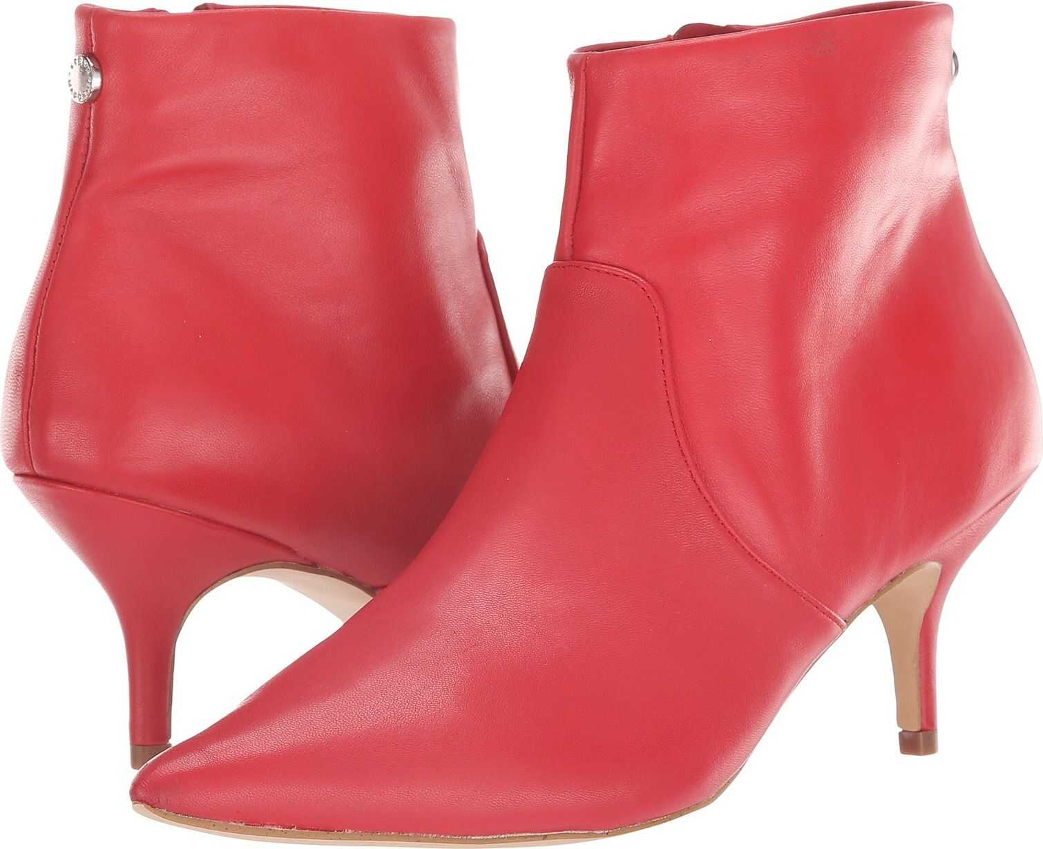 Steve Madden Rome Dress Bootie Red